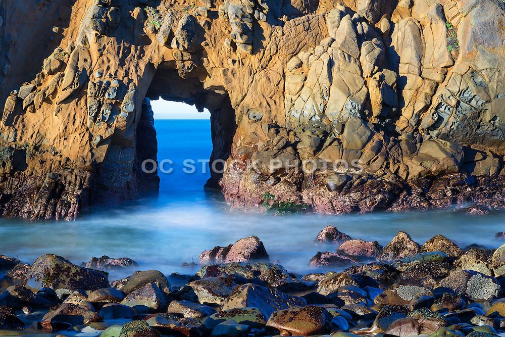 Keyhole Arch Big Sur California