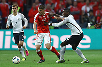 Granit Xhaka Switzerland, Paul Pogba France <br /> Lille 19-06-2016 Stade de Pierre Mauroy Footballl Euro2016 Switzerland - France / Svizzera - Francia Group Stage Group A. Foto Matteo Ciambelli / Insidefoto