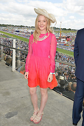 ALICE MACKINTOSH sister of Millie Mackintosh at the Investec Derby 2015 at Epsom Racecourse, Epsom, Surrey on 6th June 2015.