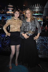 Left to right, KIRA JOLLIFFE and BAY GARNETT at the launch party of the Cheap Date Guide to Style by Kira Jolliffe and Bay Garnett held at Kabaret's Prophecy,  16-18 Beak Street, London on 15th February 2007.<br /><br />NON EXCLUSIVE - WORLD RIGHTS