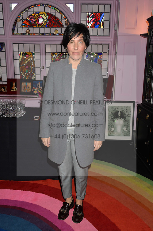 SHARLEEN SPITERI at a lunch to view Solange Azagury-Partridge's new collection - Chromance at her store at 5 Carlos Place, London on 7th October 2014.