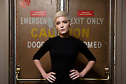 Portraits of Halsey during an exclusive iHeartRadio Q&A hosted by Z100's Maxwell at the iHeartRadio Theater, NYC. October 25, 2015. Copyright © Matthew Eisman. All Rights Reserved