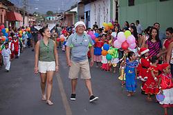 Central America, Nicaragua, Granada, Christmas Children's Parade