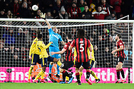 Lewis Cook (16) of AFC Bournemouth shoots any goal and misses the target during the The FA Cup match between Bournemouth and Arsenal at the Vitality Stadium, Bournemouth, England on 27 January 2020.