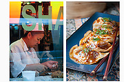 Making Dumplings in Midtown Manhattan by Rodney Bedsole, a food photographer based in Nashville and New York City.