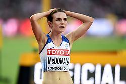 Sarah McDonald of Great Britain - Mandatory byline: Patrick Khachfe/JMP - 07966 386802 - 04/08/2017 - ATHLETICS - London Stadium - London, England - Women's 1,500m Round 1 - IAAF World Championships