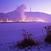 Kennecott, Utah Copper Plant outside Salt Lake City