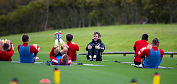 CARDIFF, WALES - Wednesday, September 2, 2020: Wales' Ronan Kavanagh during a training session at the Vale Resort ahead of the UEFA Nations League Group Stage League B Group 4 match between Finland and Wales. (Pic by David Rawcliffe/Propaganda)