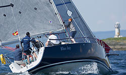 Sailing - SCOTLAND  - 25th May 2018<br /> <br /> Opening days racing the Scottish Series 2018, organised by the  Clyde Cruising Club, with racing on Loch Fyne from 25th-28th May 2018<br /> <br /> GBR2068R, Blue Jay, John Stanley-Whyte, RNCYC, J109<br /> <br /> Credit : Marc Turner<br /> <br /> Event is supported by Helly Hansen, Luddon, Silvers Marine, Tunnocks, Hempel and Argyll & Bute Council along with Bowmore, The Botanist and The Botanist