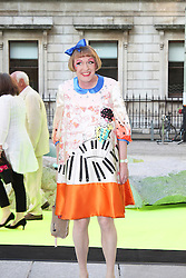 © London News Pictures. 05/06/2013. London, UK. Grayson Perry  at the Royal Academy of the Arts Summer Exhibition 2013 - Preview Party . Photo credit : Brett D. Cove/PiQtured/LNP