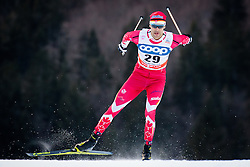 Valjas Len (CAN) during Man 1.2 km Free Sprint Qualification race at FIS Cross<br /> Country World Cup Planica 2016, on January 16, 2016 at Planica,Slovenia. Photo by Ziga Zupan / Sportida