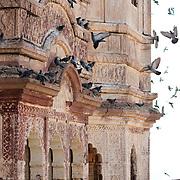 The balconies of  Mehrangarh Fort, Jodhpur