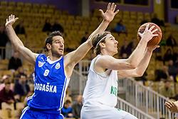 Luka Voncina of KK Ilirija during basketball match between Ilirija and Rogaska in Liga Nova KBM, Playoff for Champion, on March 10, 2018 in Hala Tivoli, Ljubljana, Slovenia. Photo by Ziga Zupan / Sportida