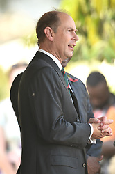 The Earl of Wessex visits Commonwealth War Graves in Accra, Ghana, on day three of The Prince of Wales and Duchess of Cornwall's trip to west Africa.