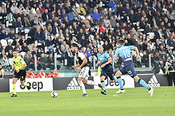 May 19, 2019 - Turin, Turin, Italy - Emre Can of Juventus FC and Marten de Roon,  of Atalanta BC during the Serie A match at Allianz Stadium, Turin (Credit Image: © Antonio Polia/Pacific Press via ZUMA Wire)