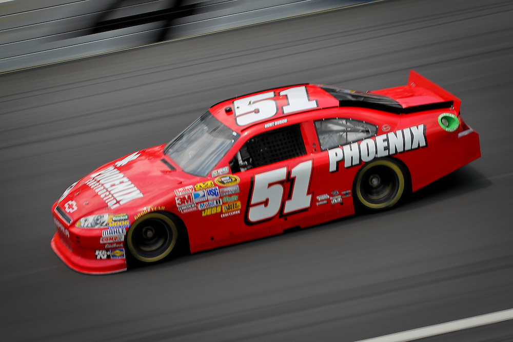 May 24, 2012; Concord, NC USA; NASCAR Sprint Cup Series driver Kurt Busch (51) during  for the Coca-Cola 600 at Charlotte Motor Speedway. Photo by Kevin Liles/kevindliles.com