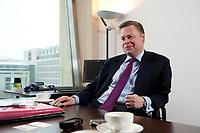 21 JAN 2010, BERLIN/GERMANY:<br /> Iaian Conn, Chief executive Refining and Marketing, Executive member of the BP board of directors, waehrend einem Interview, BP Buero Berlin<br /> IMAGE: 20100121-01-027