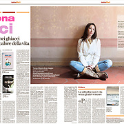 The Italian writer Simona Vinci on La Stampa - Italy - June, 27, 2020.