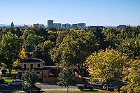 North End Neighborhood & Boise Skyline