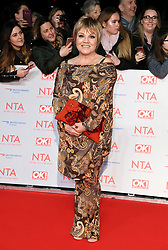 Lesley Dunlop attending the National Television Awards 2018 held at the O2, London. Photo credit should read: Doug Peters/EMPICS Entertainment
