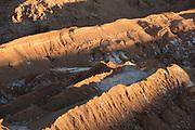 View of desert with salt full framed, Valle de la Luna, Atacama Desert, Chile