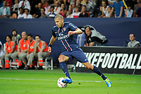 FOOTBALL - FRENCH CHAMPIONSHIP 2012/2013 - L1 - PARIS SG v FC LORIENT - 11/08/2012 - PHOTO JEAN MARIE HERVIO / REGAMEDIA / DPPI - JEREMY MENEZ (PSG)