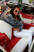 """Brazillian Pop Vocalist Vaneli on set for taping of her video """"Ur Money"""" at City Stages on May 4, 2008..Vaneli has taken the unabashed sex appeal of her Brazilian roots and   .unleashed it into her music.  Raised in Canada, this super sexy siren exudes a musical pulse that is contagious.  As Vaneli tells her fans  """"Ladies, it's time to get """"UR"""" Money Right."""".                              . According to a CNET.com Editor Review, """"Remember when we found . out the brazen Toni Braxton was actually quite short?  Vaneli is what. Ms. Braxton would have sounded like had she been as tall as we thought. The hot R&B prospect starts with pipes that tower over her peers, then layers in blazing beats fit for the club hip-hop circuit.""""                                  ."""