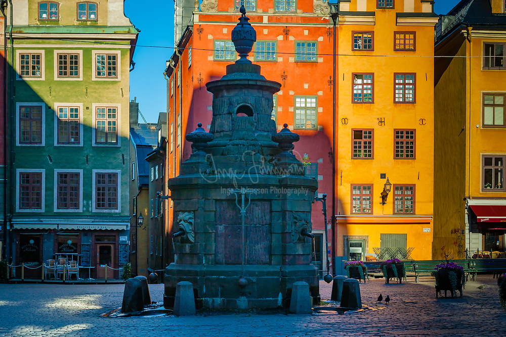 Stortorget in Stockholm Old Town