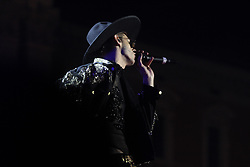 May 1, 2019 - Rome, Italy, Italy - Achille Lauro performing live at Piazza San Giovanni in Rome, for the concert of ''Primo Maggio'' (First May), organized by Italian Labour Unions CGIL, CISL and UIL. (Credit Image: © Paolo Pizzi/Pacific Press via ZUMA Wire)