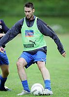 Fotball<br /> Trening FC Lyn Oslo<br /> Slemmestad 15.07.2005<br /> Foto: Morten Olsen, Digitalsport<br /> <br /> Clayton Zane