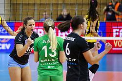 26-11-2015 SLO: Champions League Calcit Ljubljana - VakifBank Istanbul, Ljubljana<br /> Monika Potokar of Calcit Ljubljana celebrates<br /> <br /> ***NETHERLANDS ONLY***