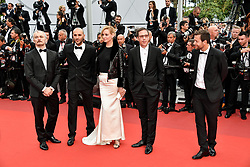 Uma Thurman, Mohamed Diab, Reda Kateb, Joachim Lafosse, Karel Och attending the Nelyubov premiere during the 70th Cannes Film Festival on May 18, 2017 in Cannes, France. Photo by Julien Zannoni/APS-Medias/ABACAPRESS.COM