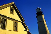 Image of Portland Head Lighthouse at Cape Elizabeth, Maine, American Northeast by Andrea Wells