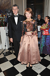 CROWN PRINCESS MARGARITA and PRINCE RADU OF ROMANIA at Brazil Now a gala ball in aid of the Red Cross held at the Grand Connaught Rooms, 61-65 Queen Street, London on 6th November 2012.