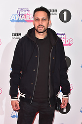 Dynamo attending the BBC Radio 1 Teen Wards, at Wembley Arena, London. Picture date: Sunday October 22nd, 2017. Photo credit should read: Matt Crossick/ EMPICS Entertainment.