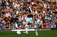 Michael Keane of Burnley in action. Skybet football league championship match, Burnley  v Brentford at Turf Moor in Burnley, Lancs on Saturday 22nd August 2015.<br /> pic by Chris Stading, Andrew Orchard sports photography.