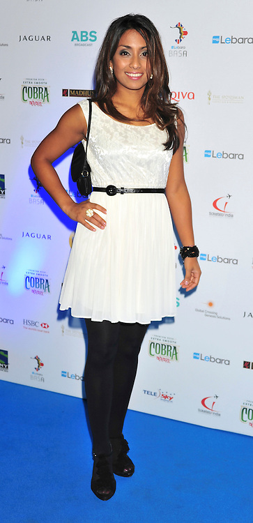 © under license to London News Pictures. 04/03/11.Isa Guha (England Cricketer) attends Lebara British Asian Sports Awards , Saturday 5th March 2011 at the Grosvenor House Hotel, Park Lane, London. Photo credit should read alan roxborough/LNP