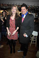 OLIVIA SCOTT-WEBB and EDWARD TAYLOR at a party to celebrate the opening of Barts, Sloane Ave, London on 26th February 2009.