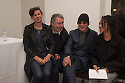RACHEL HOWARD; HUGH ALLAN; JOHN PEARSE; FLORENCE PEARSE, Francesco Clemente Private view,  Emblems of Transformation. Blain Southern. London. 28 April 2015