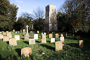 Graves in churchyard, Church of St Mary, Martlesham, Suffolk