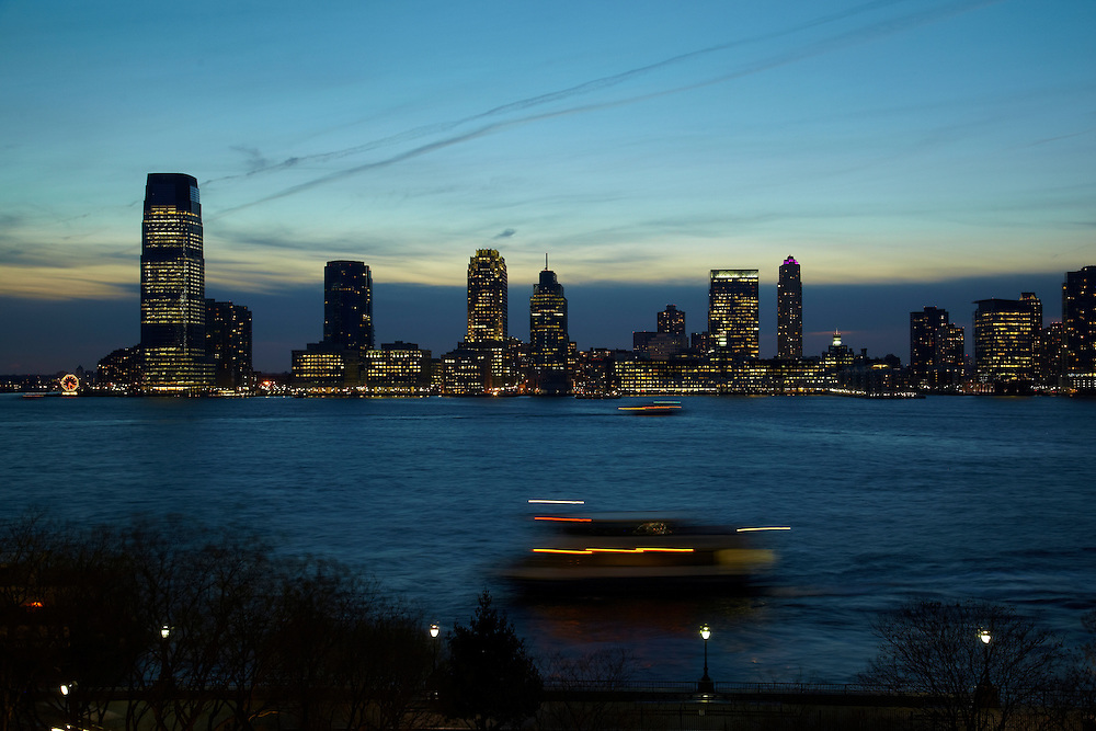 View of the Hudson River from 2 River Terrace