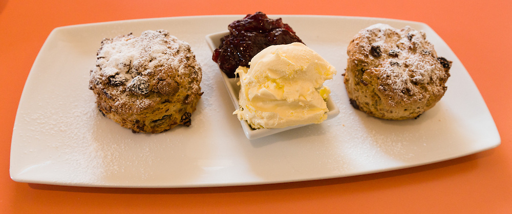 Clotted cream tea is common in many parts of the Cotswolds - and is a well-earned treat after a good ride!