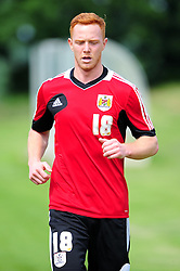 Bristol City's Ryan Taylor - Photo mandatory by-line: Dougie Allward/JMP - Tel: Mobile: 07966 386802 27/06/2013 - SPORT - FOOTBALL - Bristol -  Bristol City - Pre Season Training - Npower League One