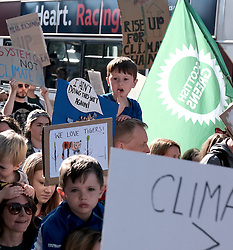 Edinburgh Climate Change Protest March<br /> <br /> Thursday, 19th September 2019<br /> <br /> Pictured: Marchers make their way from the Meadows to the Scottish Parliament<br /> <br /> Alex Todd | Edinburgh Elite media