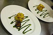 Vegetarian plate of food.