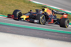 February 28, 2019 - Montmelo, BARCELONA, Spain - Pierre Gasly (Aston Martin Red Bull Racing) RD15 car, seen in action during the winter testing days at the Circuit de Catalunya in Montmelo (Catalonia), Thursday, February 28, 2019. (Credit Image: © AFP7 via ZUMA Wire)
