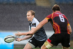 Luke Price of Ospreys<br /> <br /> Photographer Simon King/Replay Images<br /> <br /> Guinness PRO14 Round 6 - Ospreys v Southern Kings - Saturday 9th November 2019 - Liberty Stadium - Swansea<br /> <br /> World Copyright © Replay Images . All rights reserved. info@replayimages.co.uk - http://replayimages.co.uk