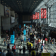 Attendees at the 2021 New York Comic Con at the Javits Center in Manhattan, New York on Thursday, October 7, 2021. John Taggart for The New York Times