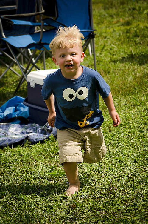 One of many youngsters having a good time at the 2012 Appel Farm Arts & Music Festival.