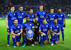 Leicester City team group - Mandatory by-line: Matt McNulty/JMP - 22/11/2016 - FOOTBALL - King Power Stadium - Leicester, England - Leicester City v Club Brugge - UEFA Champions League